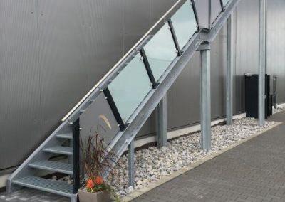 Treppenanlage SvW Stahl- und Anlagenbau